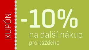 10% sleva na další nákup